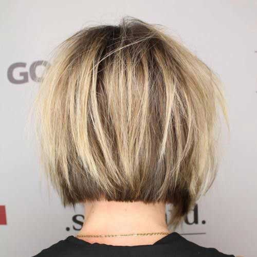 Classy Short Bob Haircuts 2018 For Women -Whatever shape your face? 7