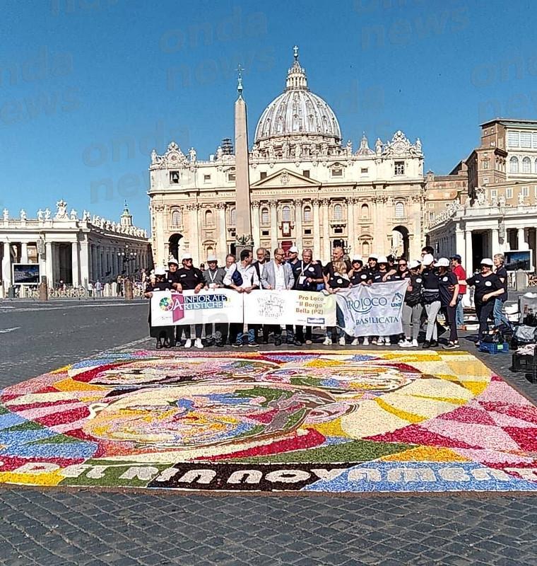 Infiorata a Roma