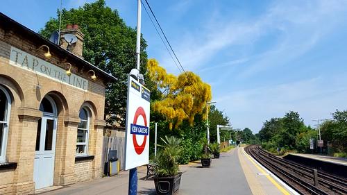 Kew Gardens Station. Greater London. UK