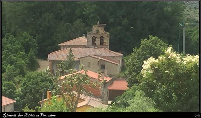 iglesia de San Adrián en Ventanilla