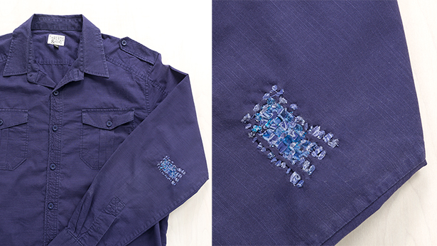 Mens-blue-shirt