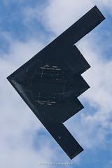 USAF B-2 Stealth Bomber at RIAT 2018