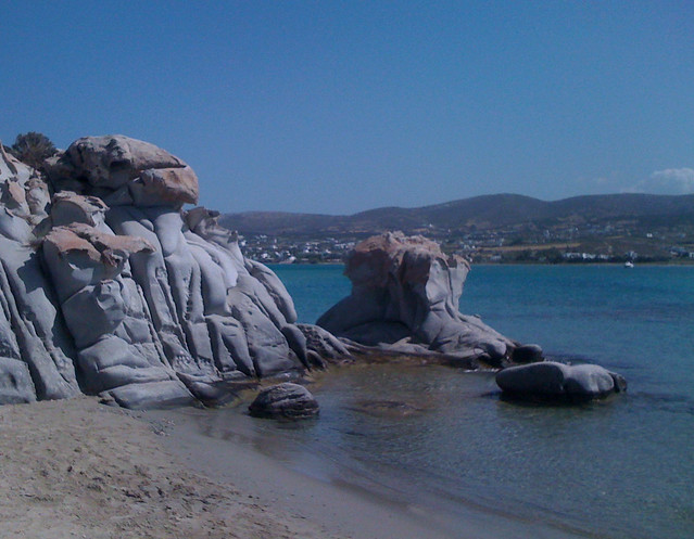 Paros 04 surreal beach, Apple iPhone 3G
