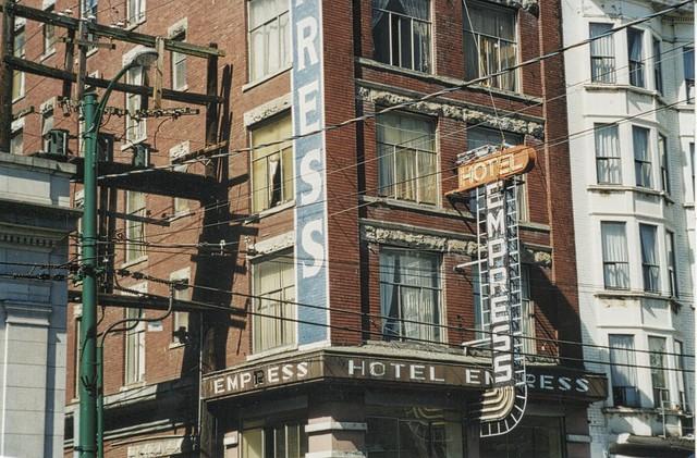 Vancouver British Columbia - Canada - Empress Hotel  - Vintage Photo 1990