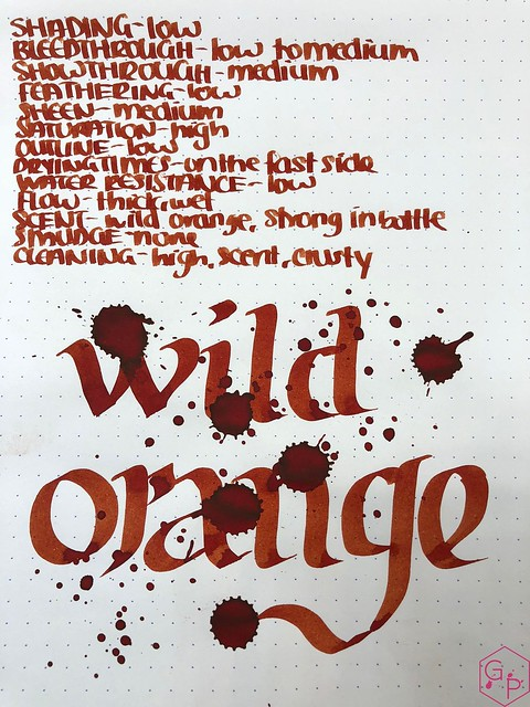 Blackstone Wild Orange Ink Review @Appelboom 10