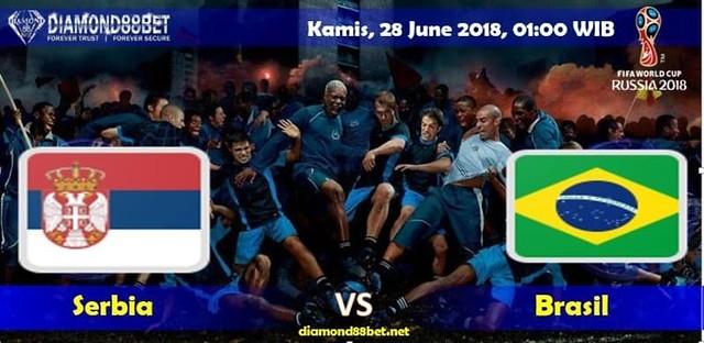 Prediksi Bola Serbia vs Brasil , Hari Kamis 28 June 2018 – Piala Dunia