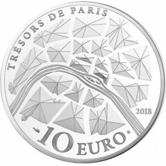2018 France 10 Euro Gates of Versaille reverse