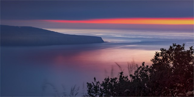 Taken at night 4 minute exposure No filters Robin Hoods Bay