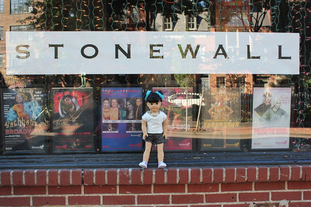 Inky at the Stonewall Inn