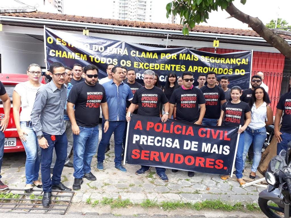 Sindpol defende convocação de candidatos excedentes da Polícia Civil, Polícia Civil. Excedentes