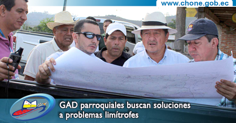 GAD parroquiales buscan soluciones a problemas limítrofes