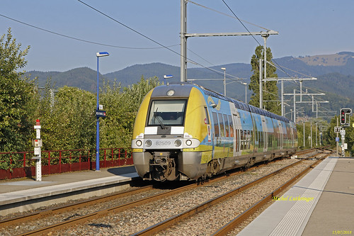 BGC 82509-10-Champagne Ardennes- TER 832833 Kruth-Mulhouse à Vx-Thann
