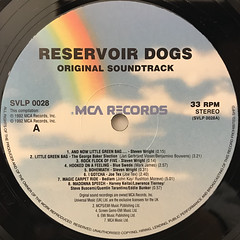 V.A.:RESERVOIR DOGS(LABEL SIDE-A)