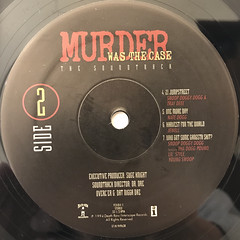 V.A.:MURDER WAS THE CASE(LABEL SIDE-B)