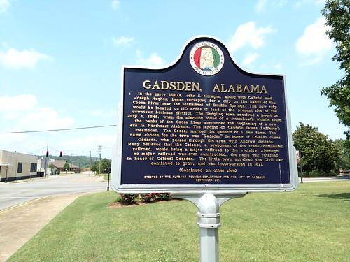 Gadsden, Alabama - Gadsden - Gadsden, Alabama Historical Marker