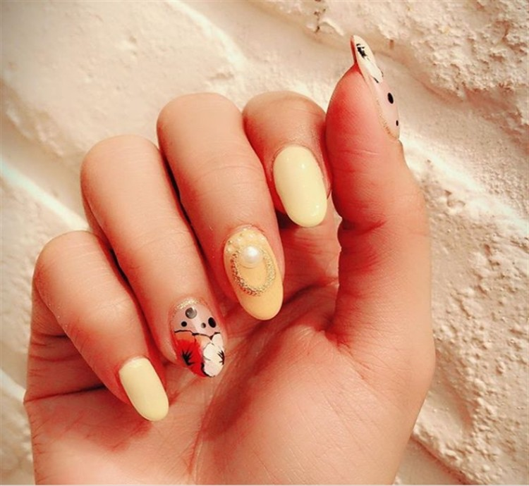 Top 33 Special Summer Gel Nail Art Designs Trends Nails - Fashonails