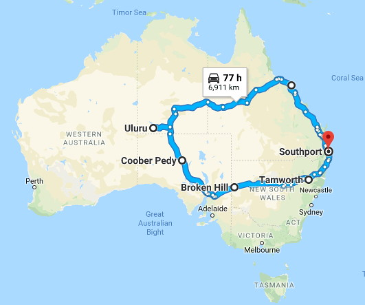Longest Trips Air Sea Road