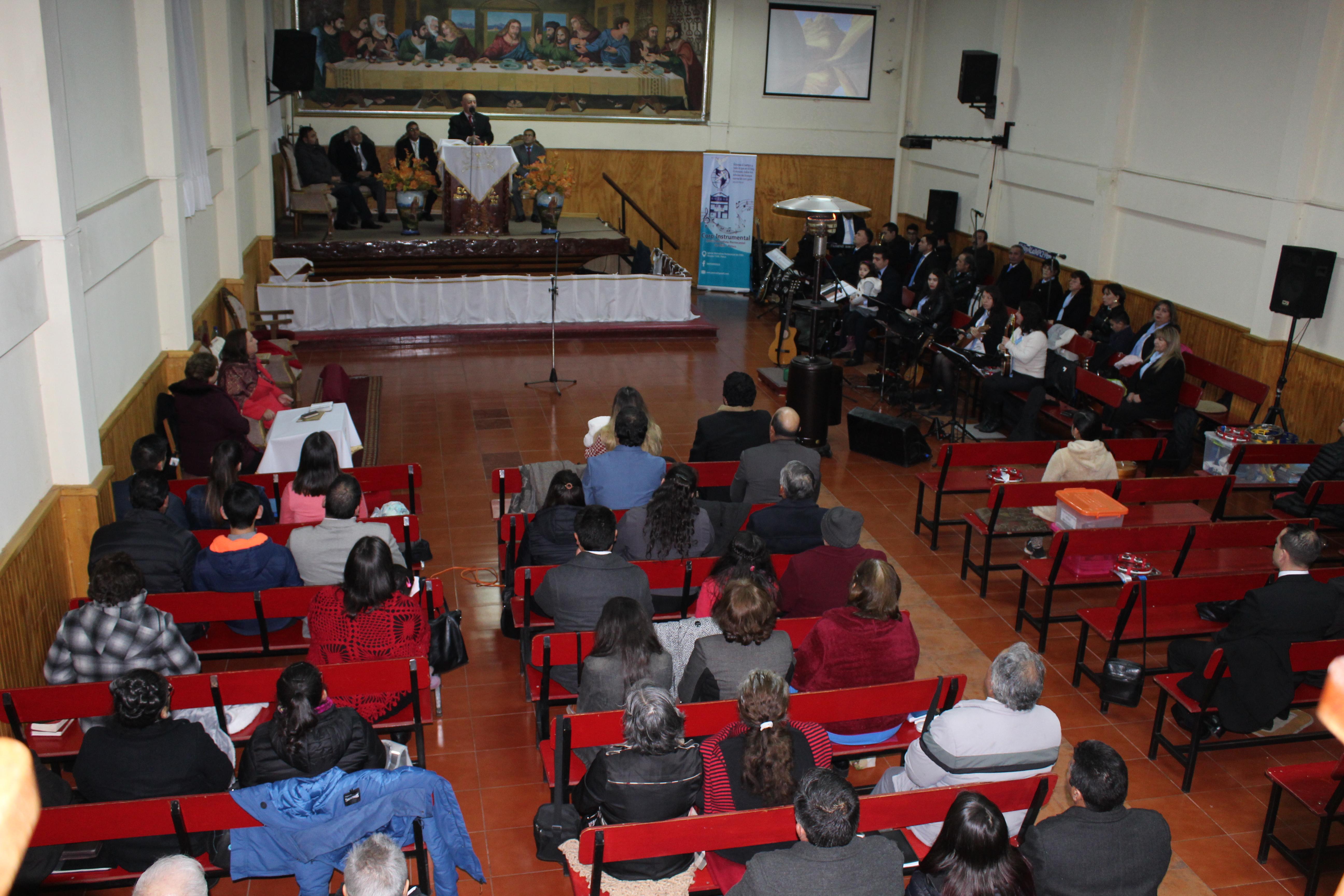 Día de bendición en IMPCH Penco