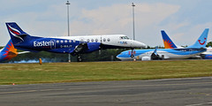 G-MAJY EASTERN JETSTREAM NEWCASTLE