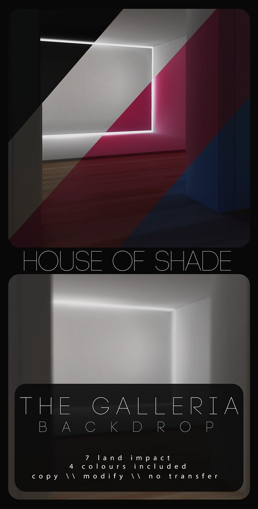 House of Shade – The Galleria Backdrop