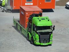 Trucks in Sweden