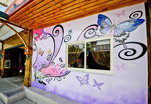 小琉球民宿,小琉球特色民宿,和舞春蝶民宿