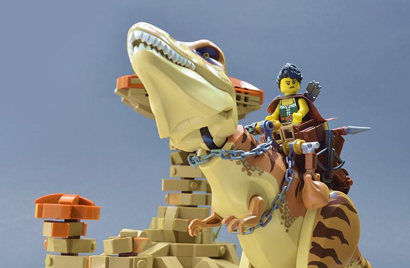 lego moc dinisaur