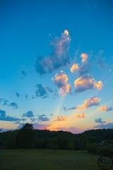 Coucher de Soleil sur Lherm - Sunset on Lherm