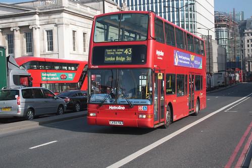 Metroline VPL630 LK54FWJ