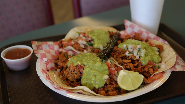 Adobado Tacos from Maria's Mexican Food in Valley Junction West Des Moines, Iowa