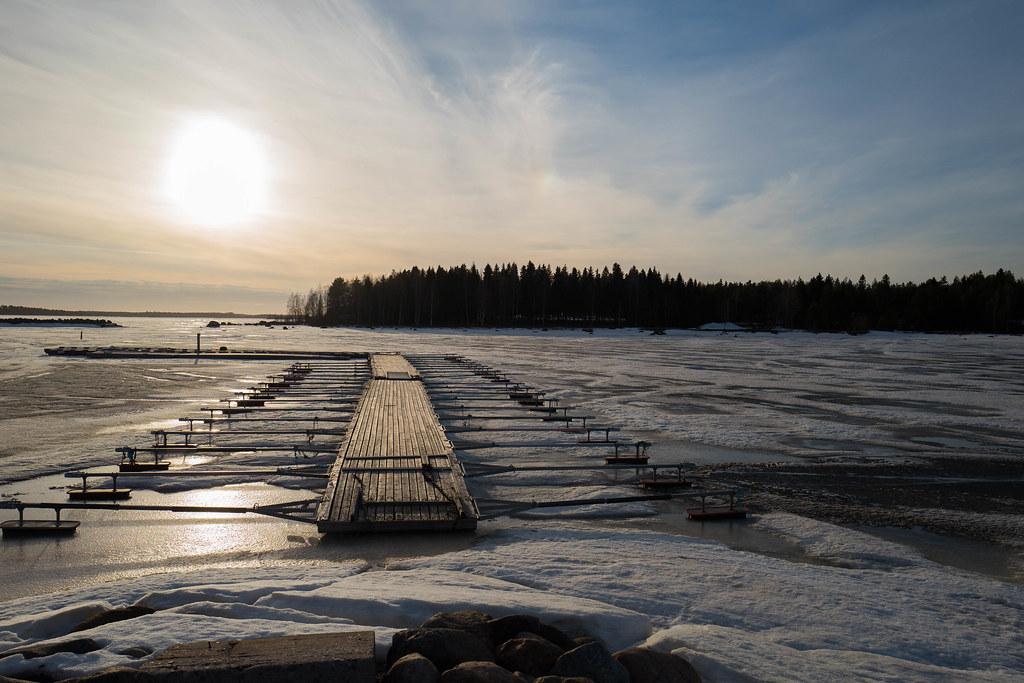Coucher De Soleil Sur La Mer Baltique Mai 2018 Yves Le Chenadec