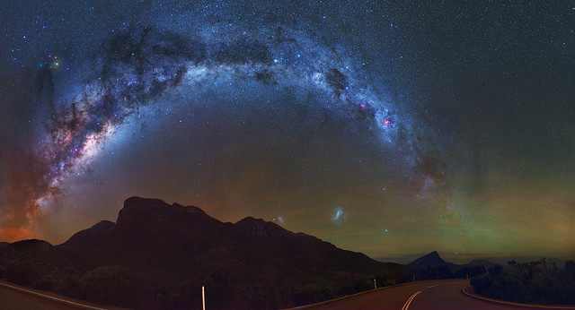 Milky Way over the Stirling Ranges, Western Australia