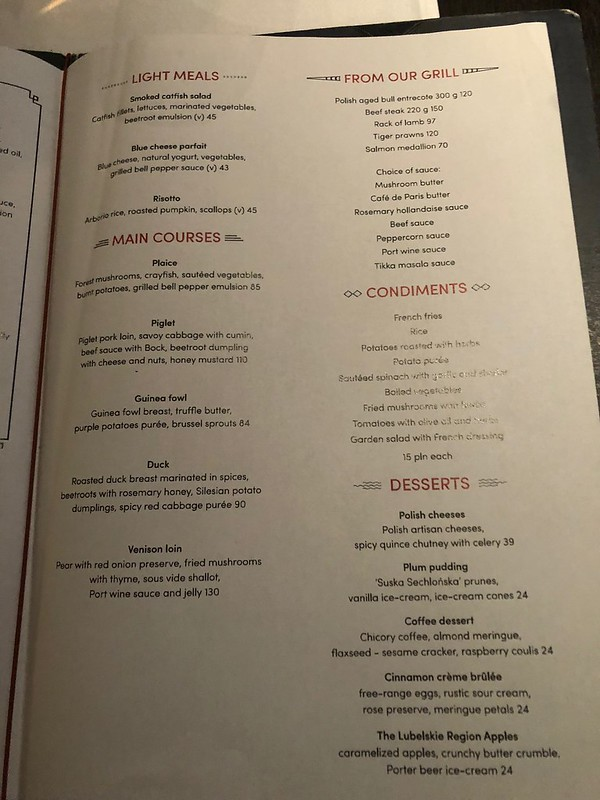 Restaurant Marconi  - Bristol Varsovie