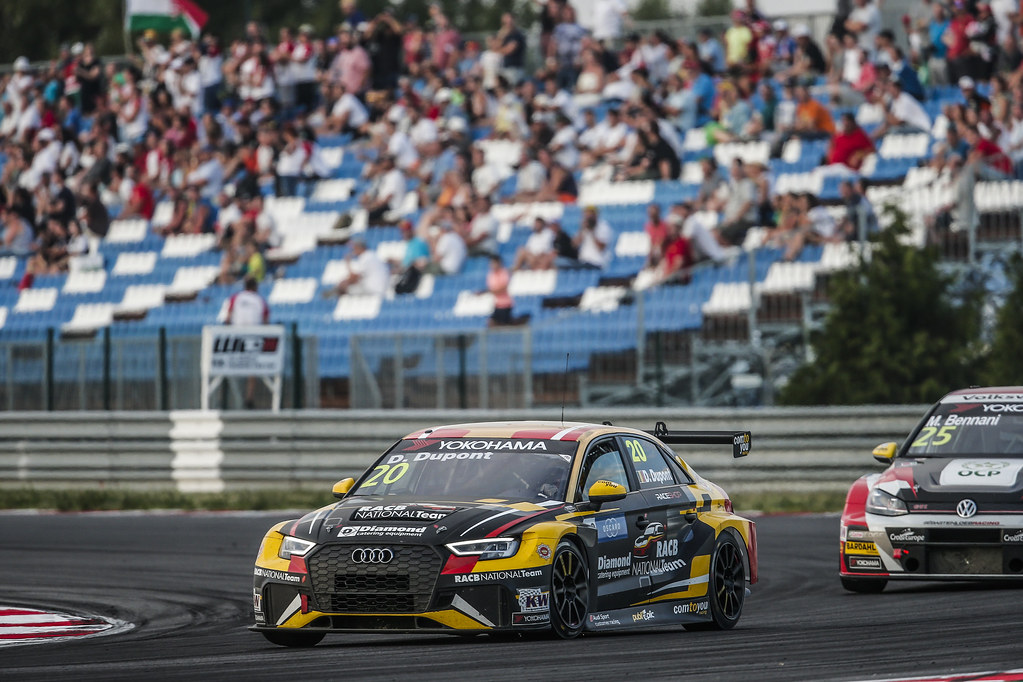 20 DUPONT Denis, (bel), Audi RS3 LMS TCR team Comtoyou Racing, action during the 2018 FIA WTCR World Touring Car cup race of Slovakia at Slovakia Ring, from july 13 to 15 - Photo Jean Michel Le Meur / DPPI