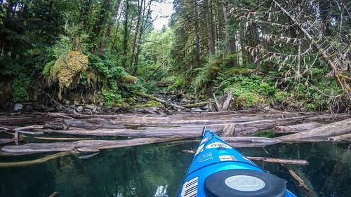 Kayaking on Baker Lake-87