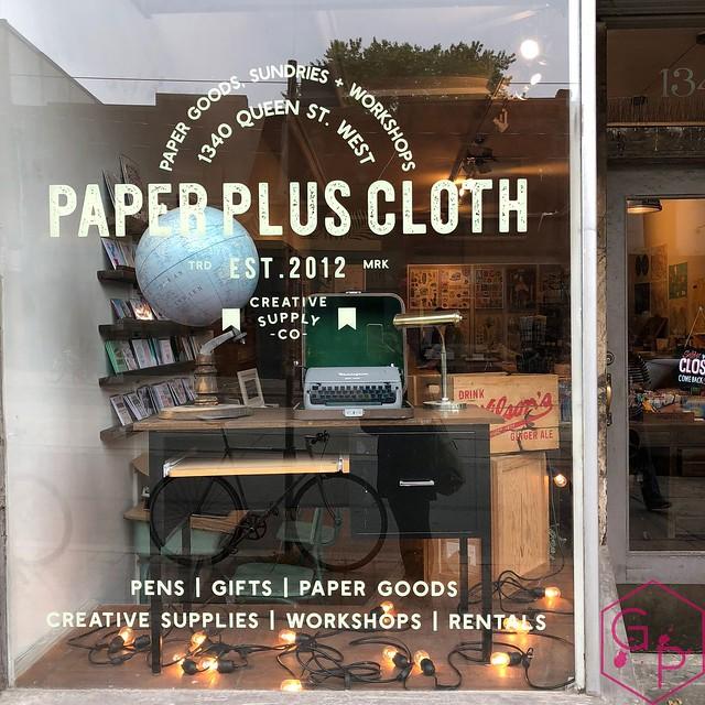 Field Trip @PaperPlusCloth in Toronto, Ontario 29
