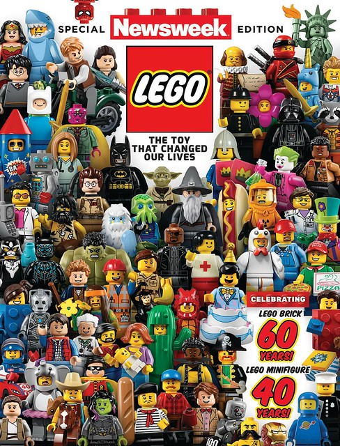 Special LEGO Edition Of Newsweek Available Now!