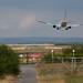 Landing at Manchester