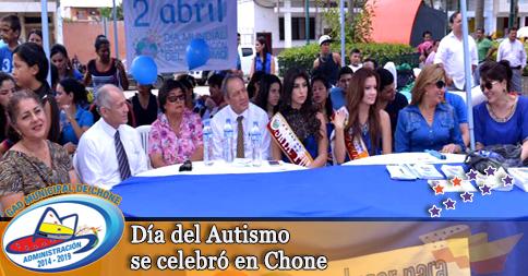 Día del Autismo se celebró en Chone