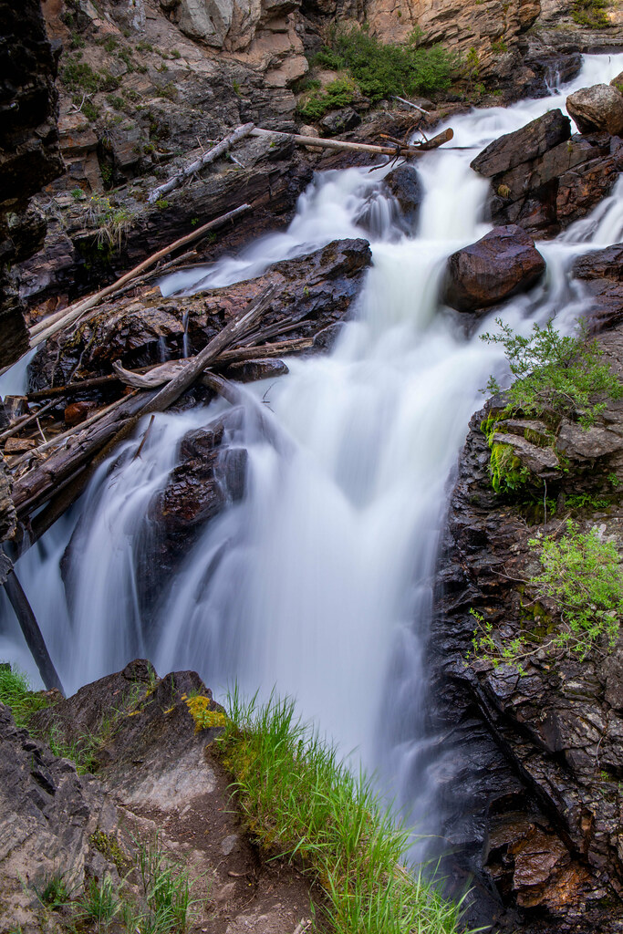 06.30. Rocky Mountain National Park: Adams Falls