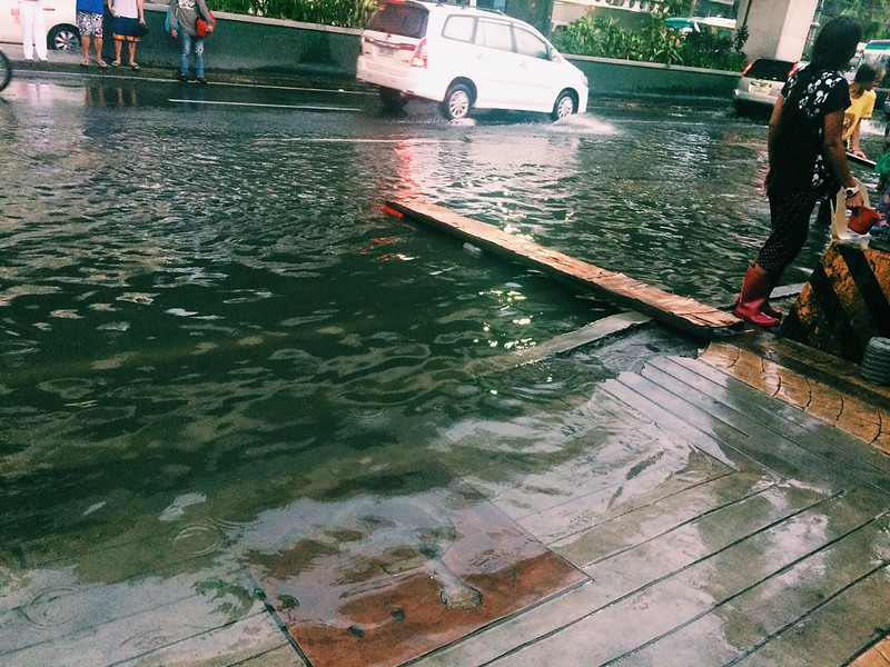 Flooding at Taft Avenue