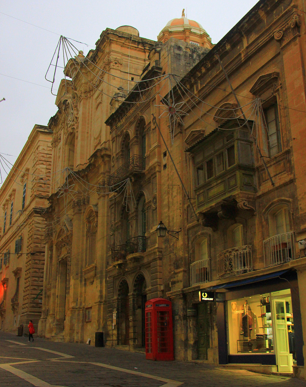 Valletta is a UNESCO World Heritage site