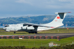 China Air Force IL76