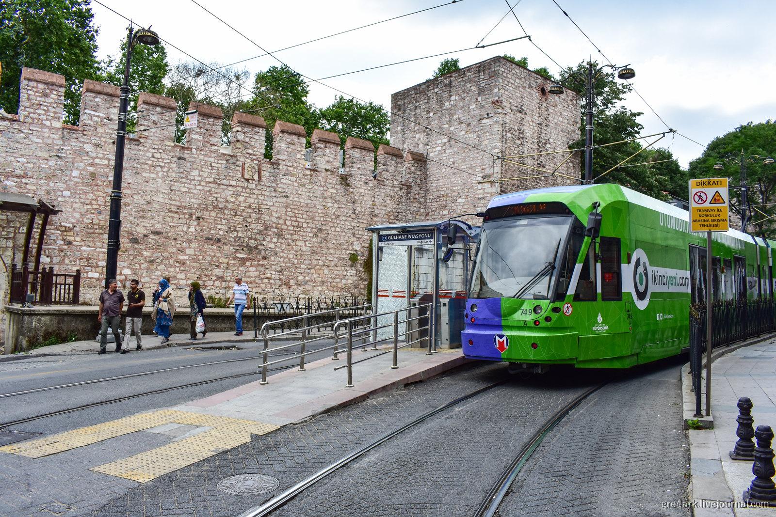 Общественный транспорт Стамбула: что и как