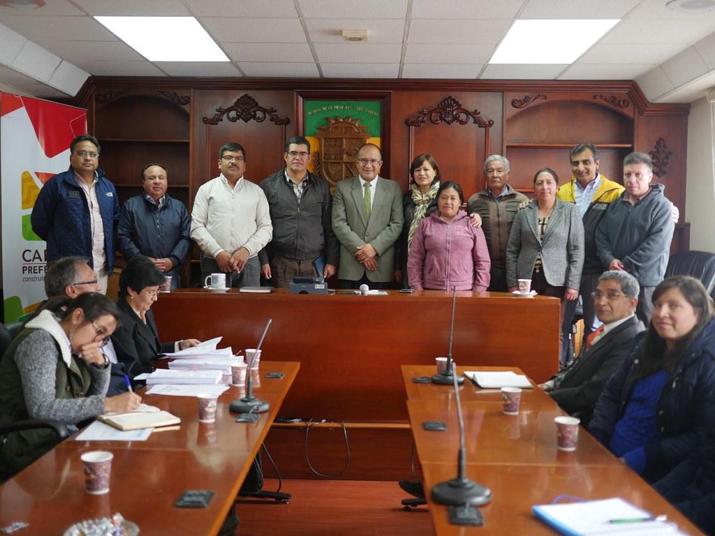 Prefectura inicia II etapa de sistema de riego para Casa Fría-Tulcán
