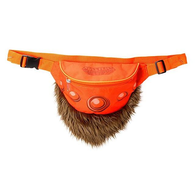 萬能的天神啊!請賜與我這款毛絨絨的腰包~ MATTEL《太空超人》太空超人腰帶腰包 He-Man Belt of Power【2018SDCC 限定】