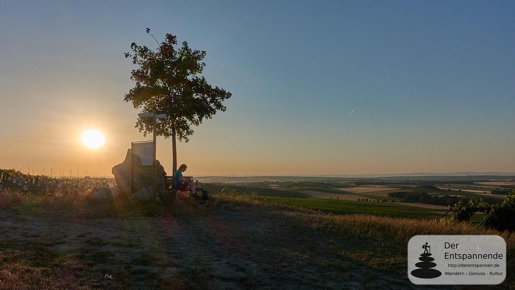 Sonnenaufgang über der Selzstellung