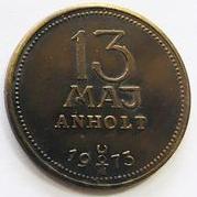 Maj Anholt devil coin reverse