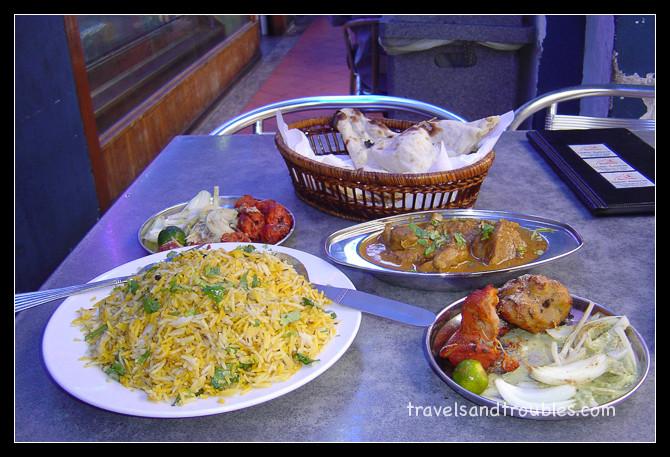 Indiase maaltijd