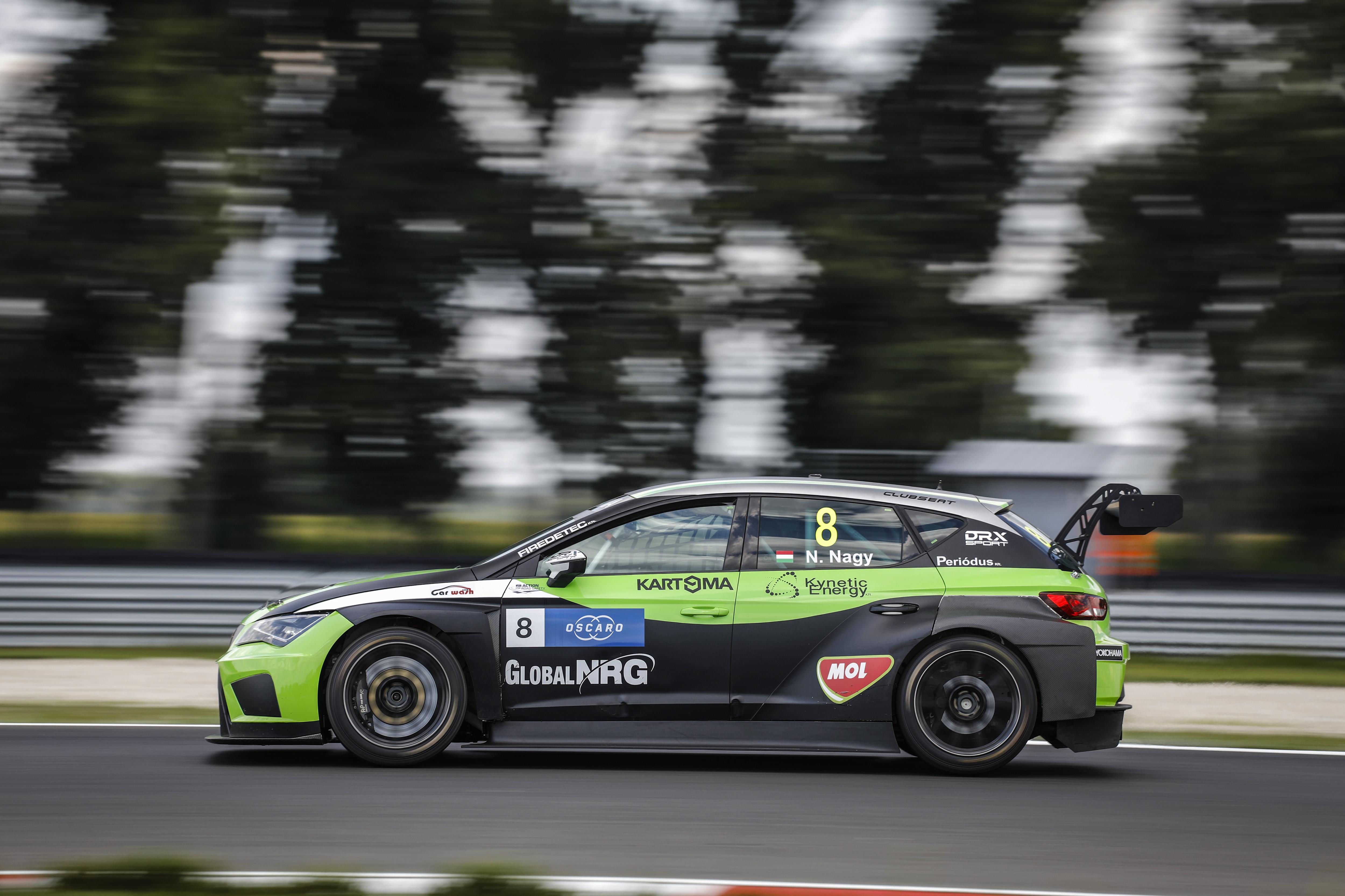 ナギー、リバース・グリッドのレース2で、初のWTCR DHLポールポジションを獲得